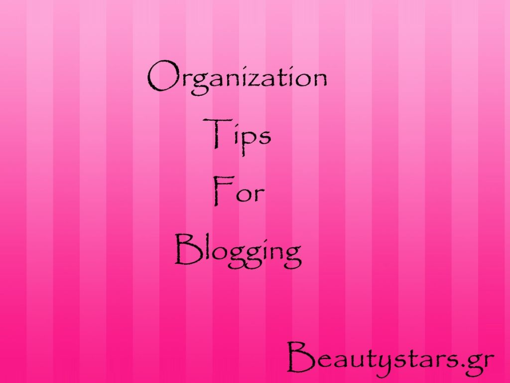 organization blogging