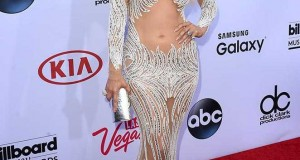 Jennifer Lopez wears Charbel Zoe at the Billboard Music Awards in LA, May 2015