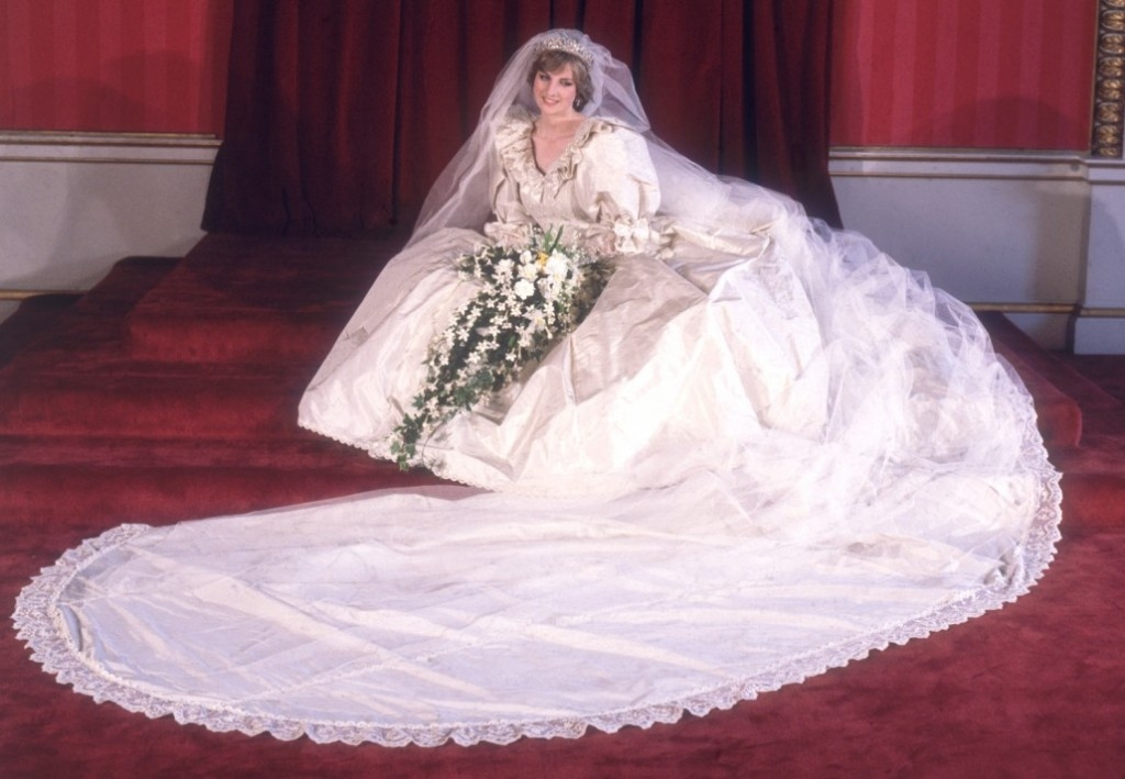 Lady Diana Spencer wedding 1