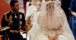 Lady Diana Spencer wedding