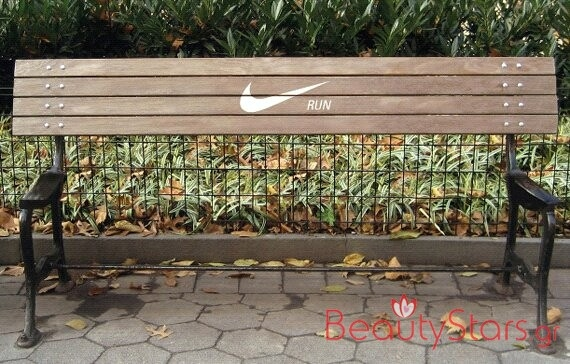 This well-meaning bench.