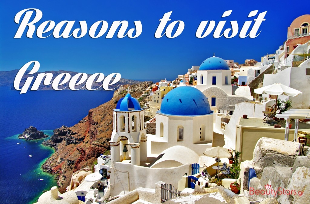 70 reasons to visit greece