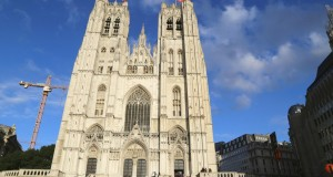 cathedral brussels belgium 2015