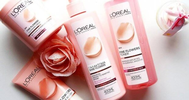 fine flowers de make up loreal paris greece