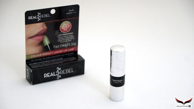 REAL REBEL colour perfect lip balm